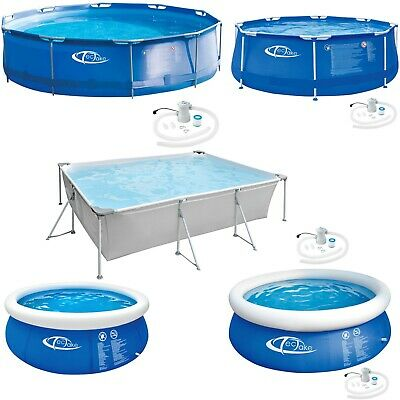 Swimming Pool Paddling Familiy Garden Outdoor Kids Fun Metal Frame/Quick up new