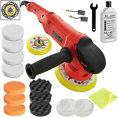 Orbital Eccentric Polisher Set Accessories Polishing Kit Machine Car 710W new