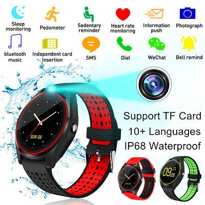 Smart Watch Bracelet Wristband Heart Rate Monitor Blood Pressure for iOS Android