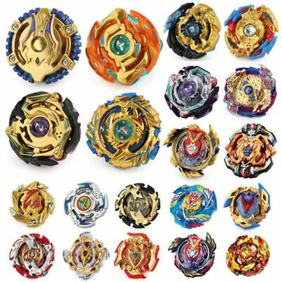 The Burst Series Gold Beyblade Metal Only Bayblade without Launcher Fusion Bey