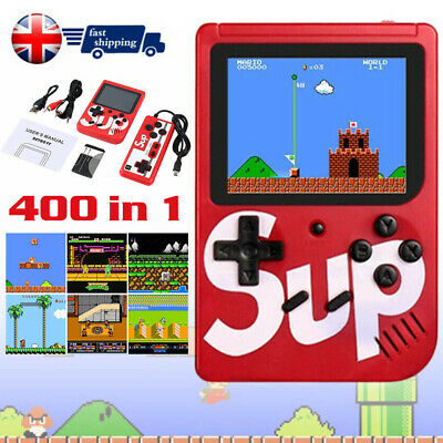 Portable Handed Gameboy Box 400 In 1 Arcade Classic Video Game Console Retro New