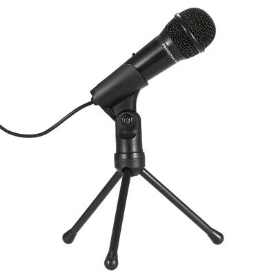 3.5mm Condenser Microphone Dynamic Mic Clear Voice For Live Speech For PC EV