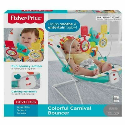 Fisher Price Colourful Carnival Baby Bouncer