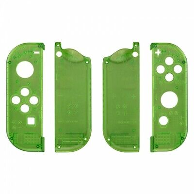Housing shell for Nintendo Switch Joy-Con controller set - Clear green | ZedLabz