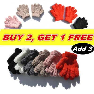 Gloves Thermal Snow Soft Magic Warm Winter Gloves Girls Kids Boys Aged 2-6 Glove