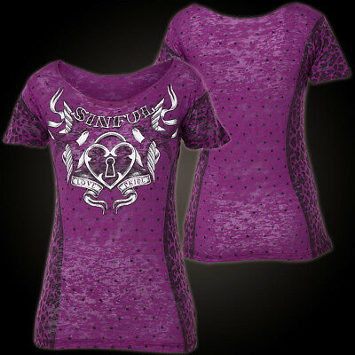 SINFUL BY AFFLICTION Sinful Pullover Roseanna Grau Sweatshirts