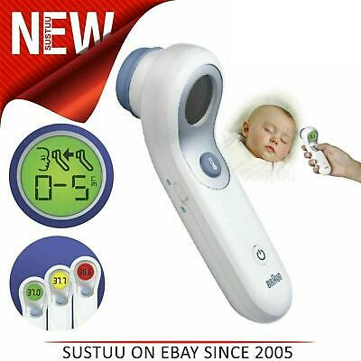 Braun NoTouch & Forehead Thermometer¦Colour-Coded Display¦ 2 Second Fast Reading