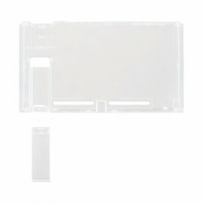 Housing shell for Nintendo Switch console back plate Transparent clear | ZedLabz