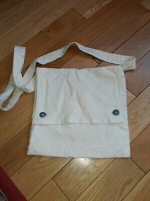 Bread Bag For Re-enacting 11.5 Inches By 11 Inches Metal Butttons