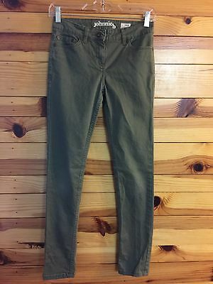 Johnnie B by Mini Boden Olive Green Jeans Boys Size 26R  26 R