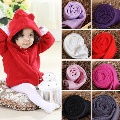 Toddler Infant Kids Baby Girl Solid Color Soft Cotton Tights Stockings Pantyhose
