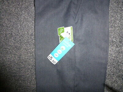 PAIR OF LONG GREY SCHOOL TROUSERS - AGE 12-13 yrs HEIGHT 152-58 FROM GEORGE-BNWT