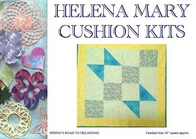 Patchwork Quilting Kit Complete Cushion Kit - Spring's Road to Oklahoma