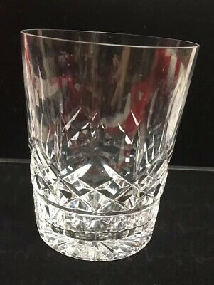 Vintage Waterford Crystal Lismore Double Old Fashioned Glass Authentic with mark