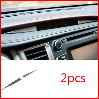 ABS Chrome Central control watch decoration Trim For Toyota highlander 2015-2018