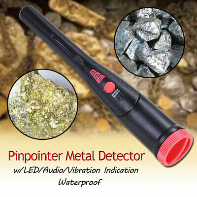 Metal Detector Pro Pointer Automatic Pinpointer Sensitive Waterproof w Holster