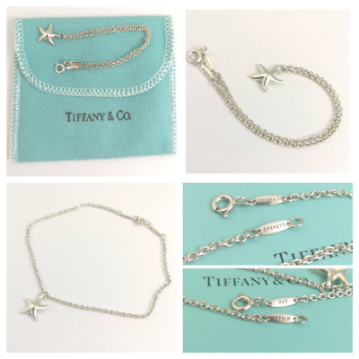 Amazing AUTHENTIC Tiffany and Co Elsa Peretti Star Bracelet in sterling silver