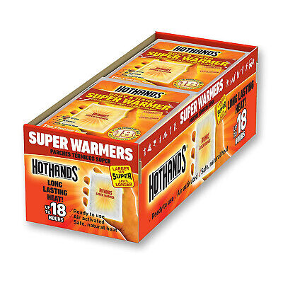 HotHands Body & Hand Super Warmers - Up to 18 Hours of Heat - 40 Pack