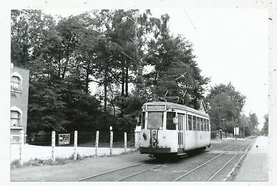 Cpa Pk Ak Photo  Tram Tramway Ligne 75 A Montignies