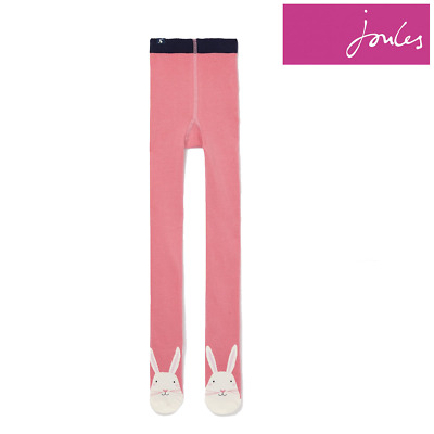Joules Anikins Character Tights - Pink Bunny