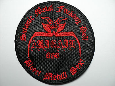 Abigail   Embroidered Patch