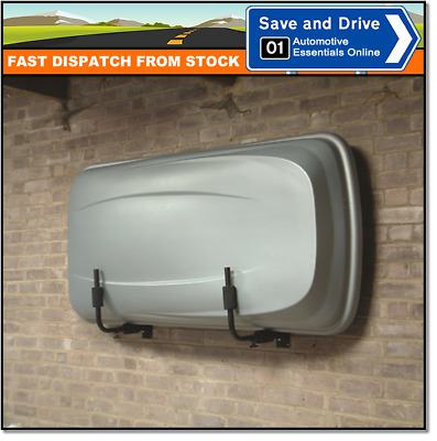 Roof Box Wall Storage By MONT BLANC Roof Top Box Pod Hanging Brackets 400360