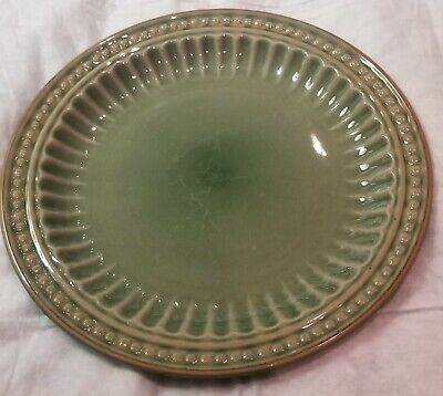 Gibson Everyday REGENT PARK GREEN Salad plate  this is priced per piece