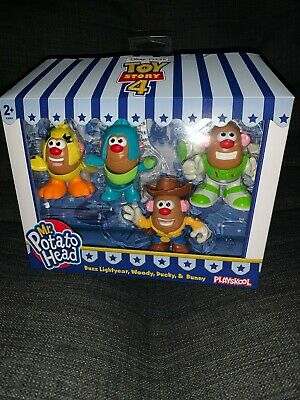 Mr. Potato Head Disney Pixar Toy Story 4 Mini 4 box set