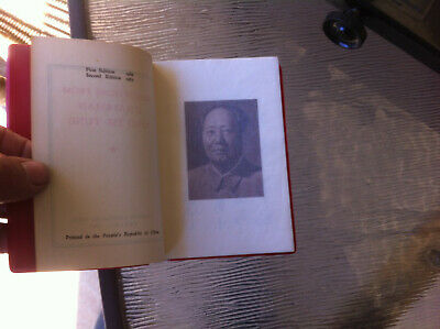 Quotations From Chairman Mao Tse Tung 1967 Little Red Book political communist