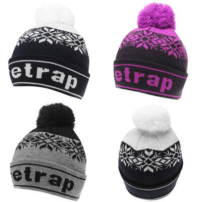 Firetrap Snow  Bobble Hat Junior JNR NEW Cap Beanie