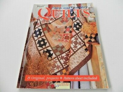 Naive & Country Quilts - soft cover