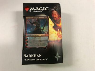 MTG Core Set 2019 Planeswalker Deck SARKHAN Brand New Factory Sealed
