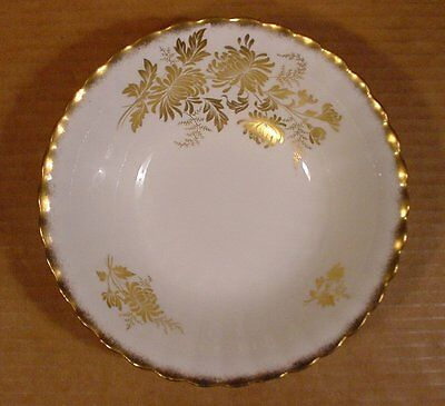 "Royal Albert Golden Glory 6 1/4"" Soup or Cereal Bowls / Made in England"