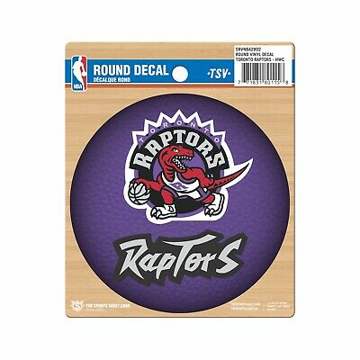 Toronto Raptors 2019 Hardwood Classic NBA Basketball Collectors Round Decal