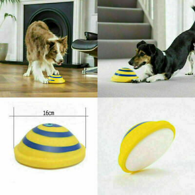 Indoor Soft Safe Play Toy For Dog Frisbee Dogs Pet Toy Sounding Disc Woof Glider