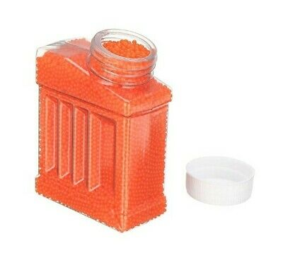 7-8mm Gel Balls Hardened Ammo Gel Blaster Toy 20,000 Bullet Orange Water Gun