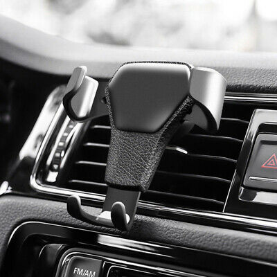 Universal Gravity Car Holder Mount Air Vent Stand Cradle For Mobile Phone GPS AU