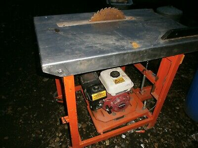 Clipper petrol saw bench Good clean condition