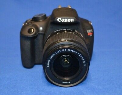 Canon EOS Rebel  DSLR Camera with EFS 18-55mm Lens NICE!