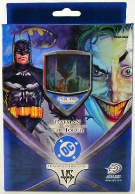 BATMAN VS. JOKER Trading Card Game DEUTSCH - UPPER DECK OVP
