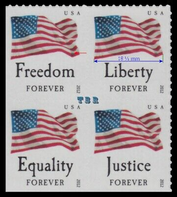 4706-09 4709 Four Flags Forever Singles Set 4 From ATM Pane 2012 MNH - Buy Now