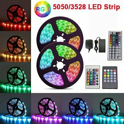 Battery Powered LED Strip light SMD 3528 Warm White/&Cool White/&RGB Waterproof