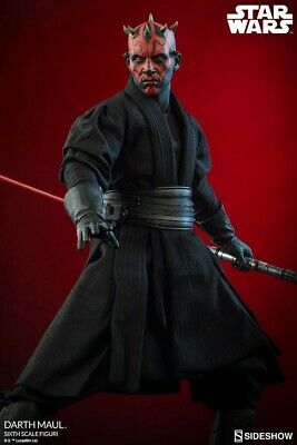 Sideshow Collectibles 1/6 Star Wars Darth Maul Duel On Naboo Exclusive Figure
