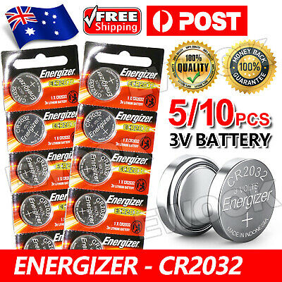 5/10x Genuine For Energizer CR2032 QueenOf New Child-Resistant Battery 3V Button