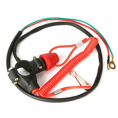 Universal Boat Outboard Engine Motor Kill Stop Switch Safety Tether Lanyard NEO@