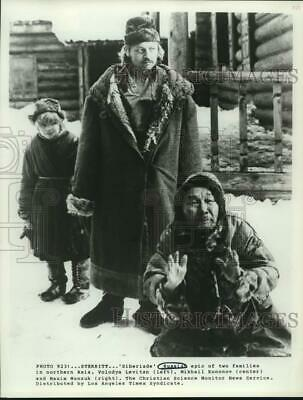 """Press Photo Scene From """"Siberiade,"""" An Epic Russian Film About Two Families"""