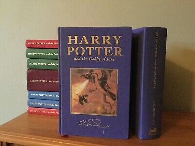 Harry Potter & The Goblet Of Fire - Deluxe Edition First Edition 1st Print (1)