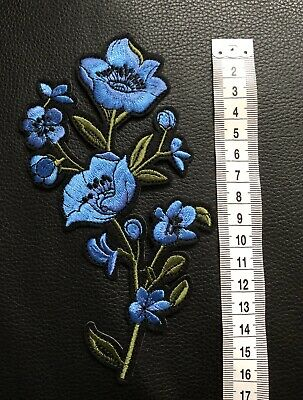 1Pcs Rhinestones skull Embroidered Patch Iron on Sewing Crystal Applique HGUK