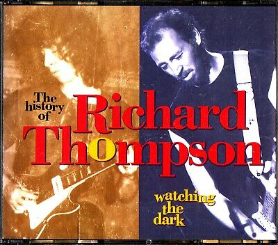 RICHARD THOMSPON -Watching The Dark, The History Of 3-CD (Best Of/Greatest Hits)