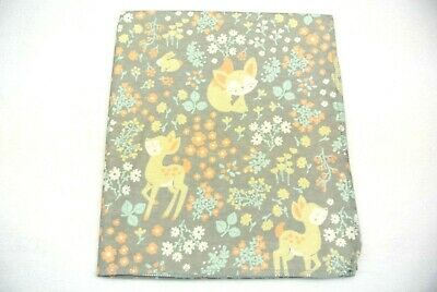 Baby Blanket Deer Birds Polka Dots Can Be Personalized 36x40